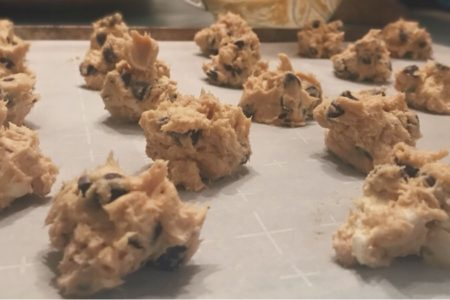 No-Bake Chocolate Chip Cookie Dough Bites