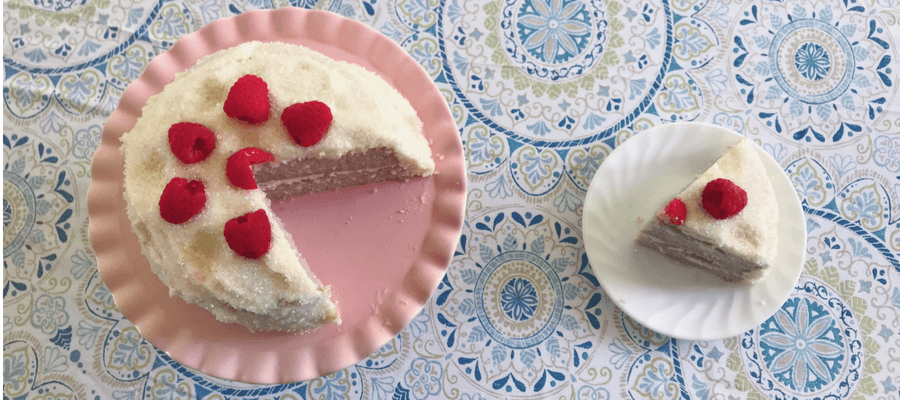 Raspberry Rosé Cake – A Millennial Girl's Dream