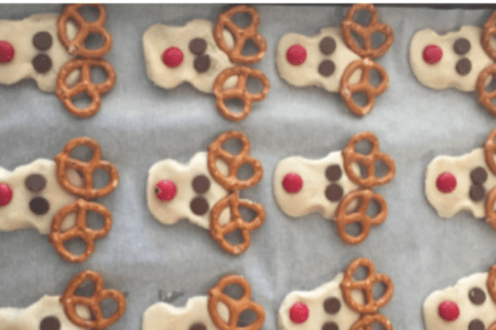 Simple Rudolph Christmas Cookies