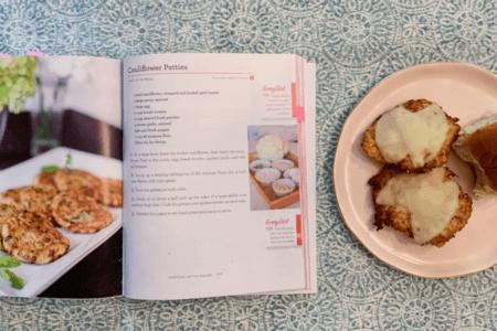 Maria Menounos' Cauliflower Patties Recipe