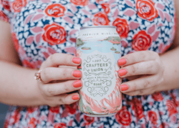 canned rosé for summer