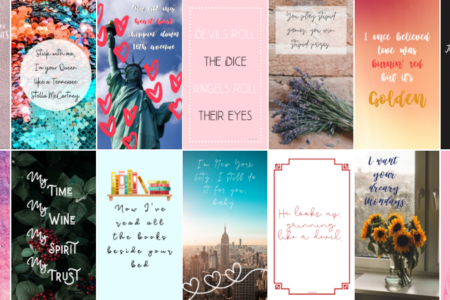 Taylor Swift Lover-Inspired Phone Wallpapers
