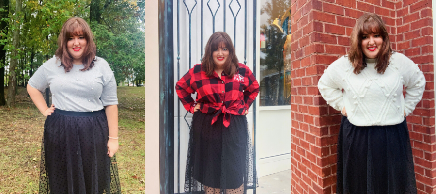3 Ways to Style A Black Tulle Skirt